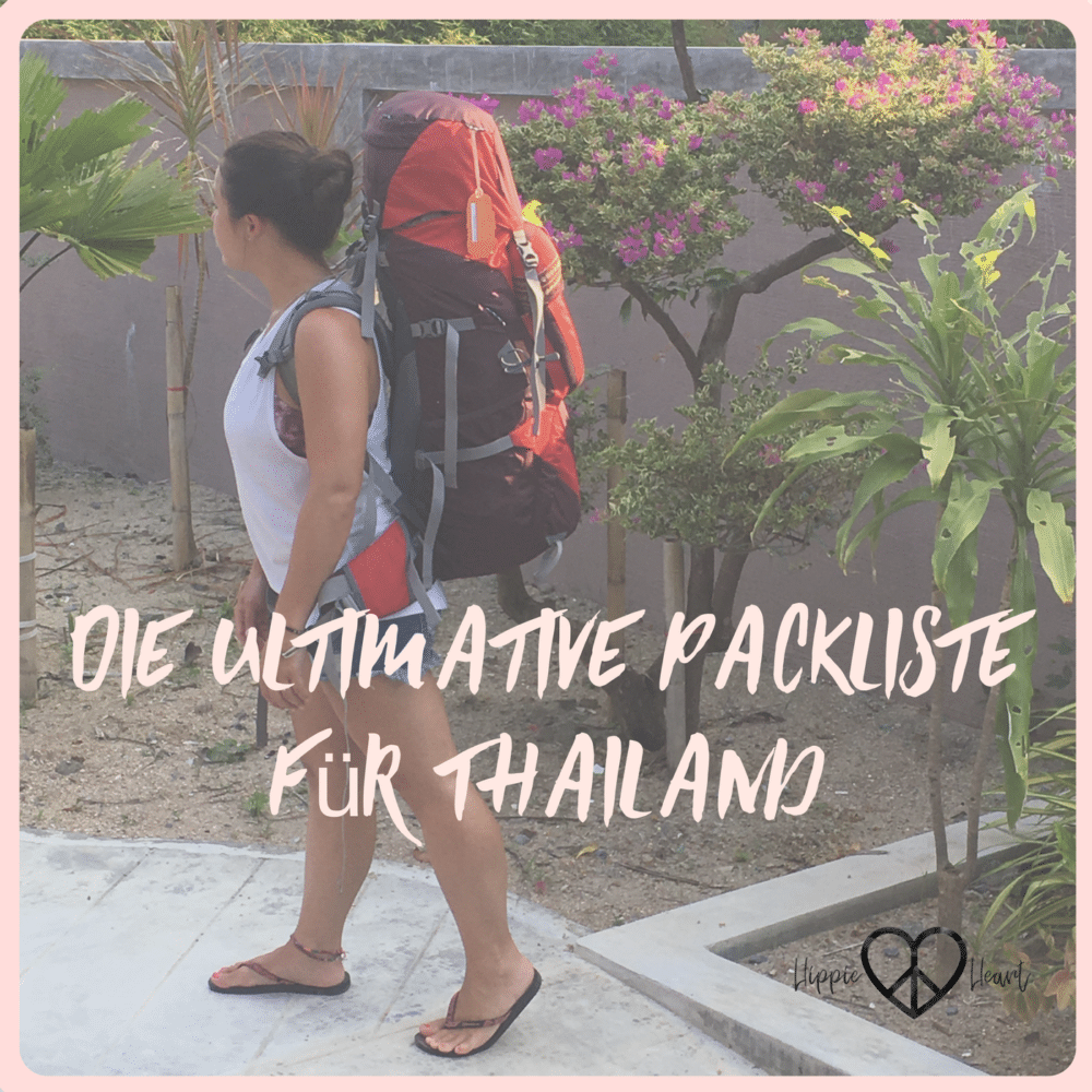 Packliste für Thailand Titelbild - Hippie in the Heart