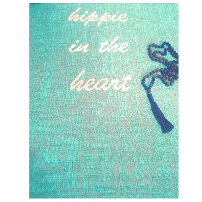 Hippie in the Heart Yoga Matte