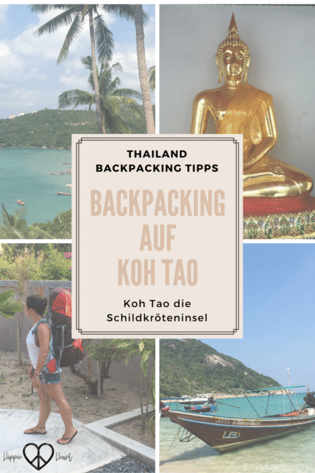 Backpacking in Thailand - Backpacking auf Koh Tao - Die Schildkröteninsel