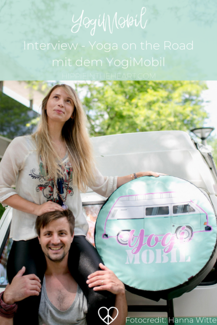 YogiMobil - Interview - Yoga on the Road - Fotocredit:Hanna Witte - Pinterest Grafik