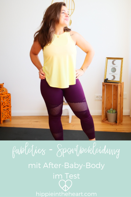 fabletics Sportbekleidung mit After Baby Body im Test - Pinterest
